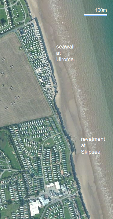 Ulrome and Skipsea terminal groyne effect: 2011