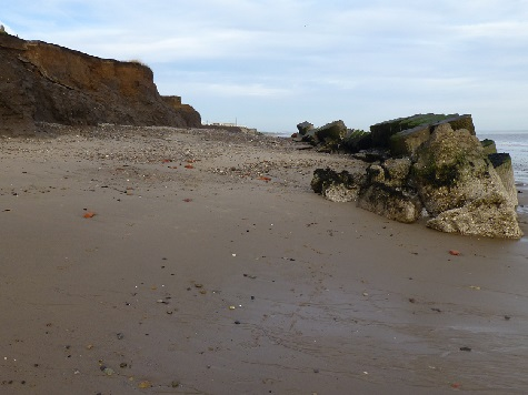 Skipsea revetment [15 December 2013]